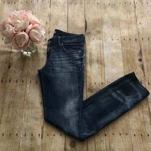 Express Low Rise Stella Ankle Jeans Size 2
